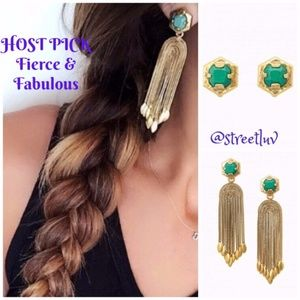 ✨HP✨ stella & dot ~ odeon tassel stud earrings